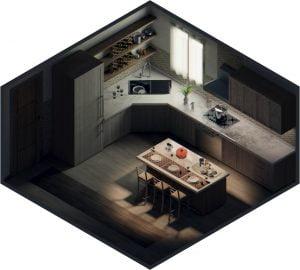 Grafica 3D, VR & AR per l'Architettura e il Design | Mire Mirror Reality