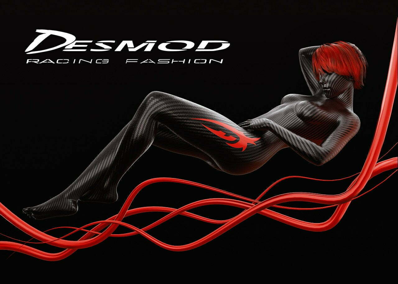 Desmod Racing Fashion | Art by Mire Studio